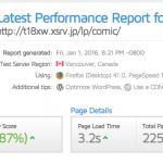 激遅なWordPressサイトを高速化するためにやった事