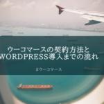ConohaWINGの契約とワードプレスのインストール方法